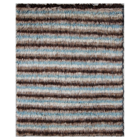 Marrakesh Collection // Hand Knotted Wool Shag Berber Rug