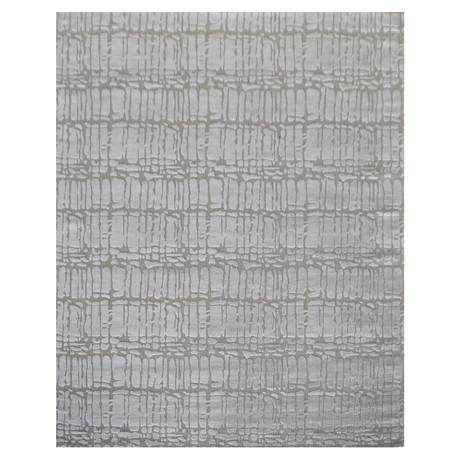 Loom Collection // Handcrafted Bamboo Wool + Silk Decorative Rug