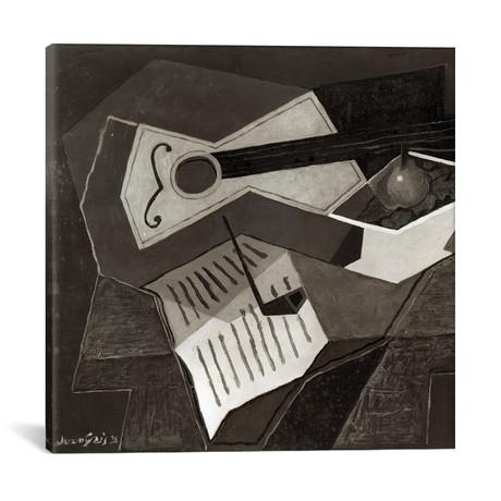 "Guitar + Fruit bowl // 1926 (18""W x 18""H x 0.75""D)"