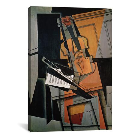 """The Violin // 1916 (26""""W x 18""""H x 0.75""""D)"""