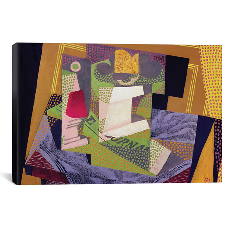 """Composition on a Table // 1916 (18""""W x 26""""H x 0.75""""D)"""