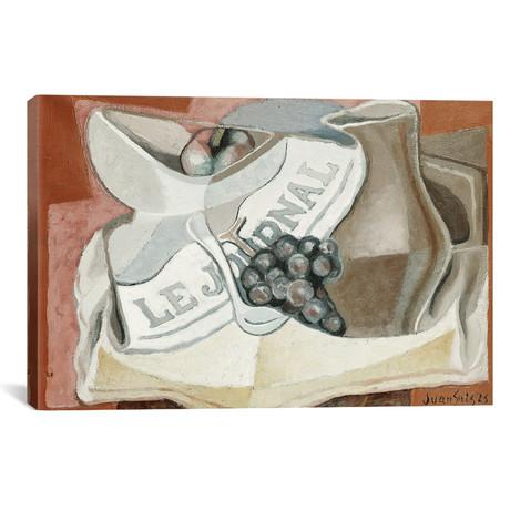 """The Bunch of Grapes (La Grappe de Raisins) // 1925 (18""""W x 26""""H x 0.75""""D)"""