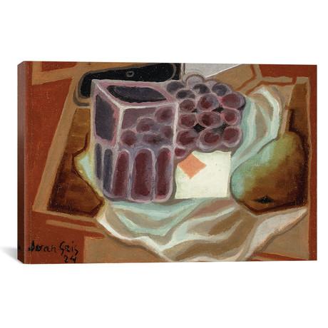"""Ace of Diamonds // L'as de Carreau // 1924 (18""""W x 26""""H x 0.75""""D)"""
