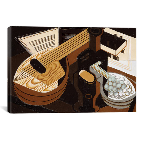 "The Mandolin // La Mandoline // 1921 (18""W x 26""H x 0.75""D)"