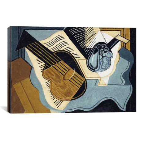 "Guitar + Fruit-bowl // 1921 (18""W x 26""H x 0.75""D)"
