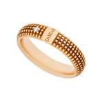 Damiani 18k Rose Gold Diamond Ring (Ring Size: 7)