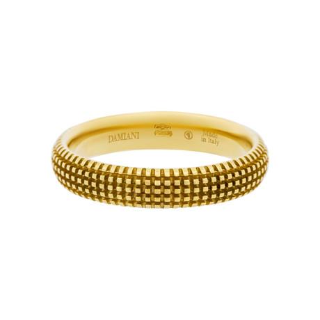 Damiani 18k Yellow Gold Diamond Ring II (Ring Size: 7)