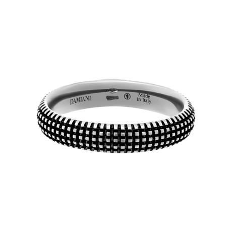 Damiani 18k Black Gold Diamond Ring I (Ring Size: 7)