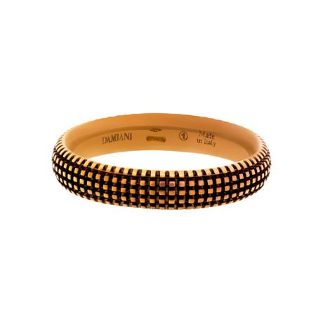 Damiani 18k Rose Gold Diamond Ring I // Ring Size: 10