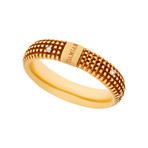 Damiani 18k Rose Gold Diamond Ring II // Ring Size: 10