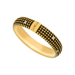 Damiani 18k Yellow Gold Diamond Ring (Ring Size: 10)