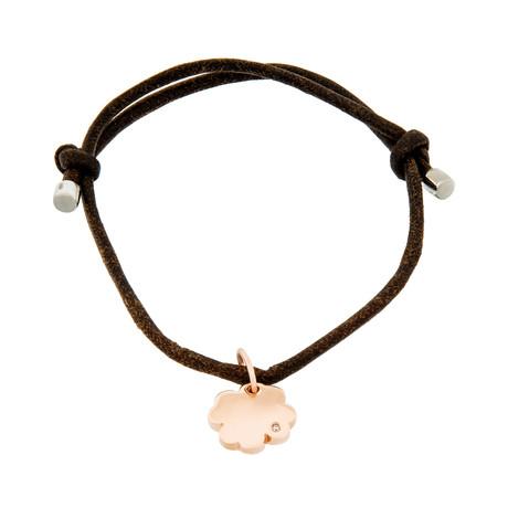 """Damiani 18k Rose Gold Diamond Bracelet IV // Bracelet Size: 4.375"""""""