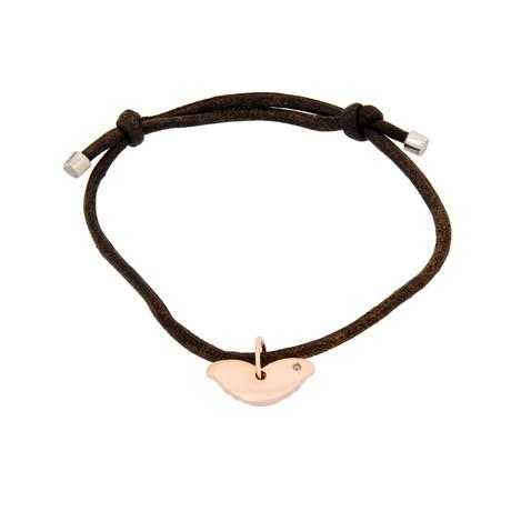 """Damiani 18k Rose Gold Diamond Bracelet II // Bracelet Size: 7"""""""
