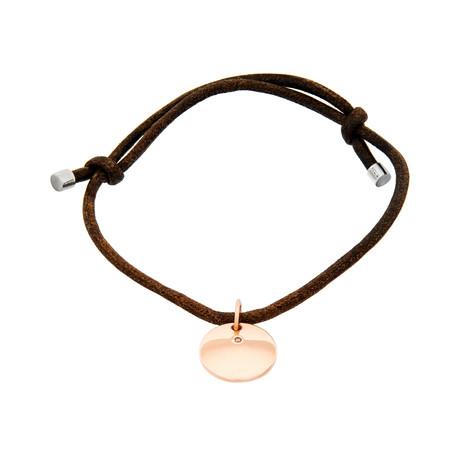 """Damiani 18k Rose Gold Diamond Bracelet VI // Bracelet Size: 4.375"""""""