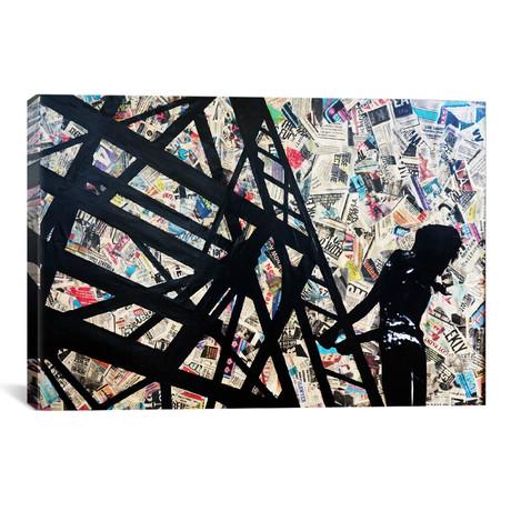 "Transmission Tower // Annie Terrazzo (18""W x 26""H x 0.75""D)"