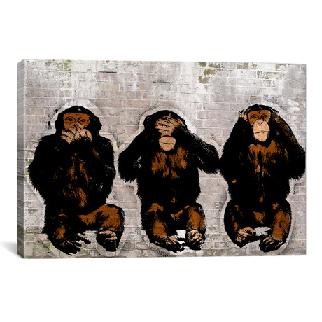 """Monkey See, Monkey Do // 5by5collective (18""""W x 26""""H x 0.75""""D)"""
