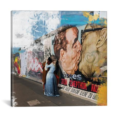 """Kisses // Jose Luis Guerrero (18""""W x 18""""H x 0.75""""D)"""