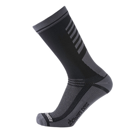 Lightweight Waterproof Socks // Classic Black (XS/S)