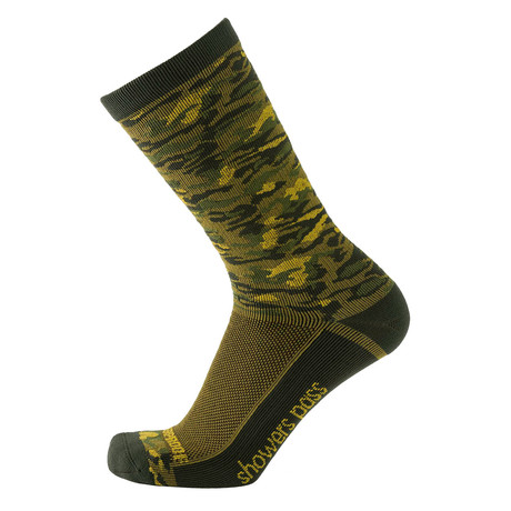 Lightweight Waterproof Socks // Forest Camo (XS/S)
