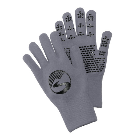 Wool Knit Waterproof Gloves // Gray (S)