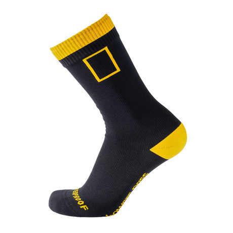 National Geographic Waterproof Socks // Black (XS/S)