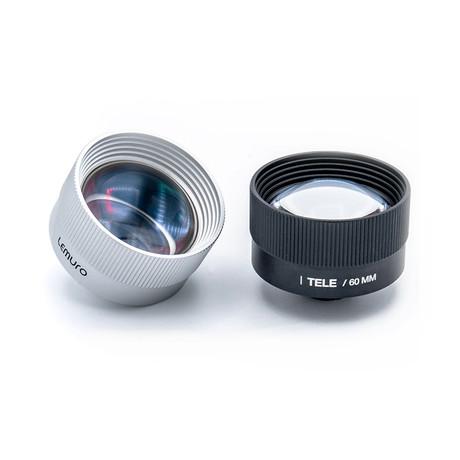 60MM Tele Portrait Lens (Silver)
