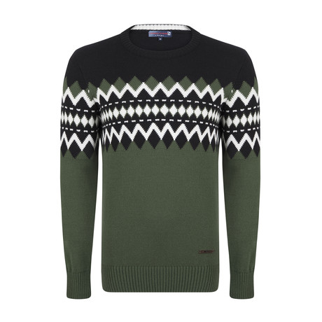 Luca Pullover // Green (S)