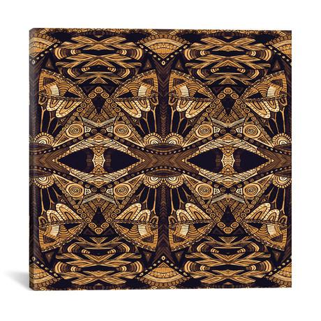"""Art Deco Gold // Angelika Parker (18""""W x 18""""H x 0.75""""D)"""