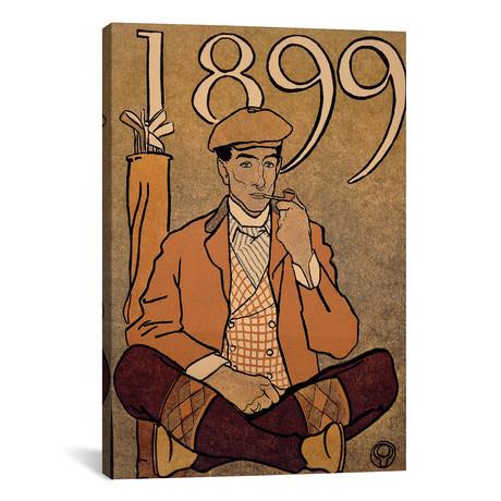 Golf Calendar // 1899 // Unknown Artist