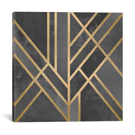 "Art Deco Geometry I // Elisabeth Fredriksson (18""W x 18""H x 0.75""D)"