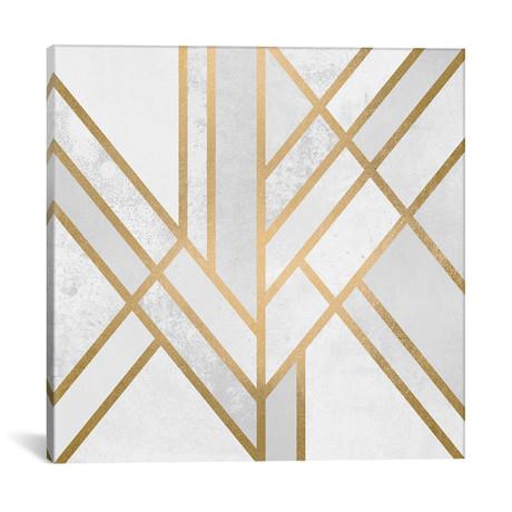 "Art Deco Geometry II // Elisabeth Fredriksson (18""W x 18""H x 0.75""D)"
