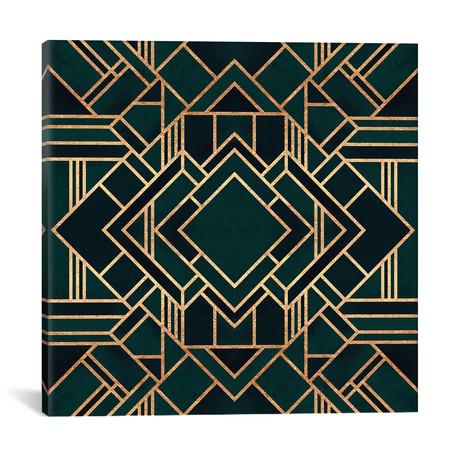 "Art Deco II // Elisabeth Fredriksson (18""W x 18""H x 0.75""D)"