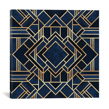 """Art Deco III // Elisabeth Fredriksson (18""""W x 18""""H x 0.75""""D)"""