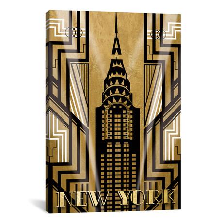"""NY Deco // Katrina Craven (26""""W x 40""""H x 1.5""""D)"""