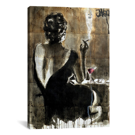 "Cocktail // Loui Jover (12""W x 18""H x 0.75""D)"