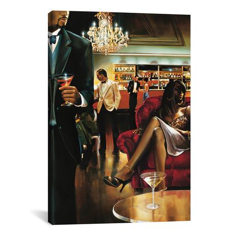 "The Lounge // Ron Di Scenza (26""W x 18""H x 0.75""D)"