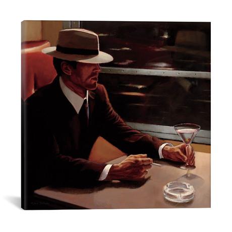 "Dry Martini Crop I // Myles Sullivan (18""W x 18""H x 0.75""D)"