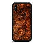 KerfCase // Walnut Burl Alloy iPhone Case // TOMO EXCLUSIVE (iPhone XS)