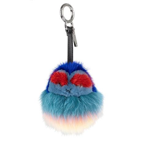 Fox Fur Mink Monster Bag Charm // Multi-Color