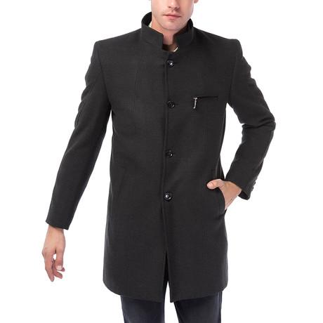 PLT8322 Overcoat // Anthracite (M)