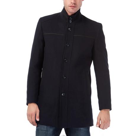 PLT8323 Overcoat // Dark Blue (M)