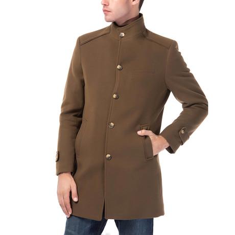 PLT8333 Overcoat // Camel (M)