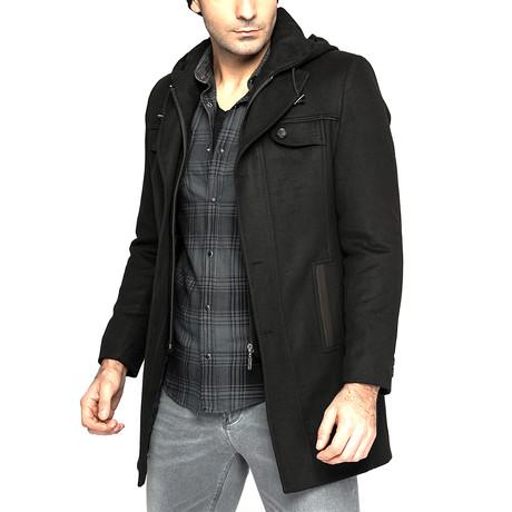 PLT8338 Overcoat // Black (M)