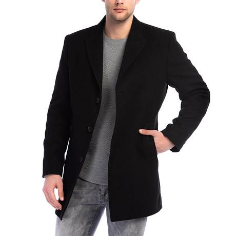 PLT8361 Overcoat // Black (M)