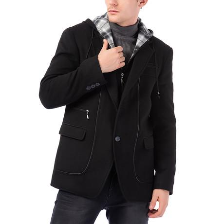 K7533 Overcoat // Black (M)