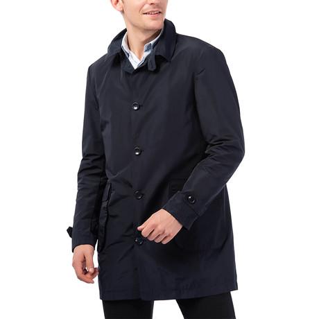 PLT8625 Raincoat // Dark Blue (M)