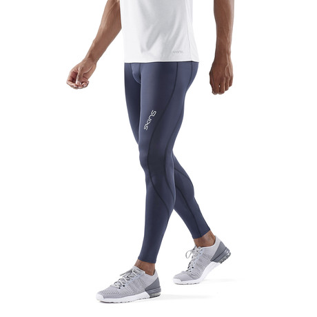 CORE Compression Long Tights // Navy Blue (Small)