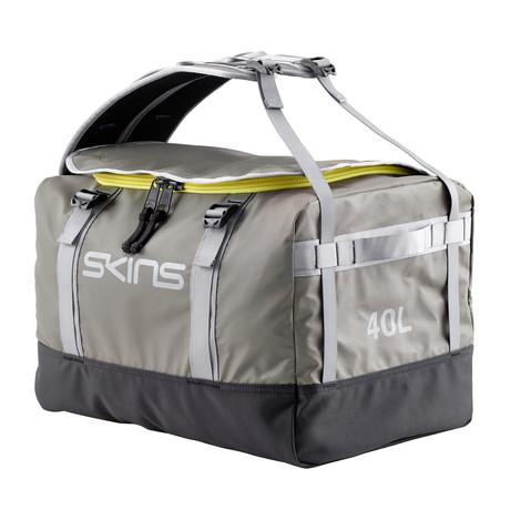 SKINS Duffle Bag // Silver