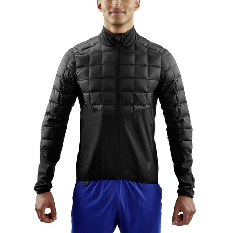 Jedeye Mapped Down Run Jacket // Black (Small)