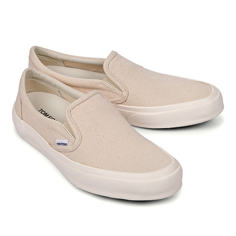 Slip-On Canvas Loafers // Tan (US: 6)